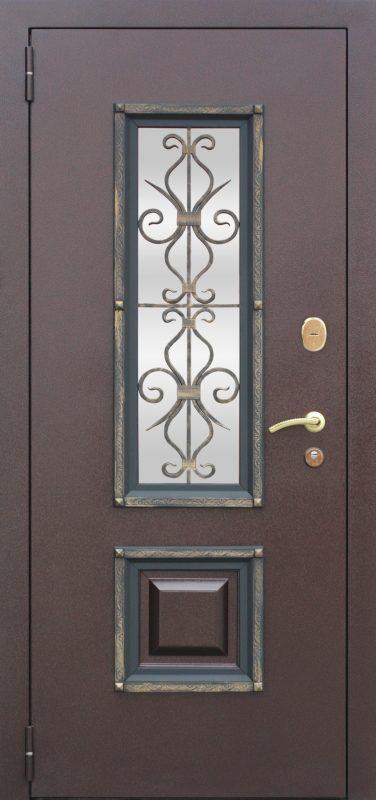 входная дверь вишня венге