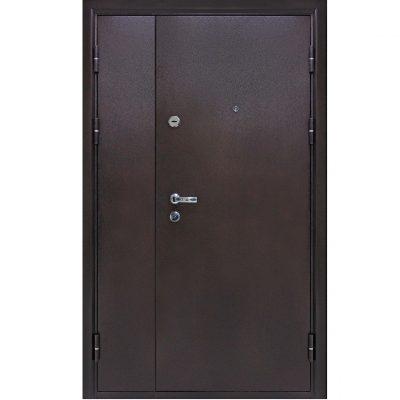 Входная дверь йошкар металлическая коричневая венге
