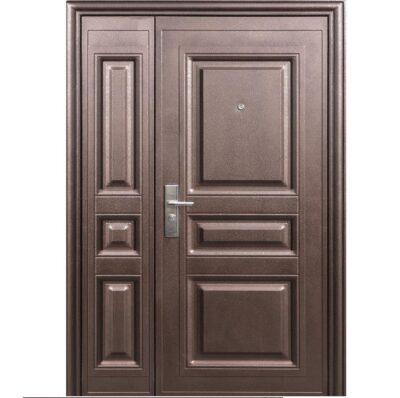 Входная дверь нестандартная венге
