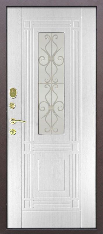 бронированная дверь стекло