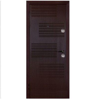 Входная дверь венге узор