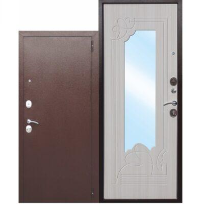 Входная дверь ампир со стеклом
